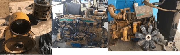 Kawasaki engine and transmission modification2