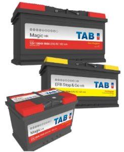 TAB Starter Batteries for GCC