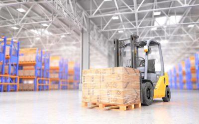 Warehouse lift truck batteries