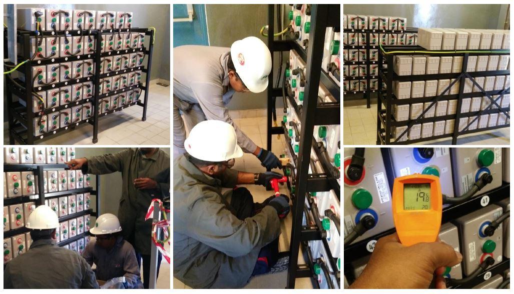 Safe battery installation - dahbashi engineering
