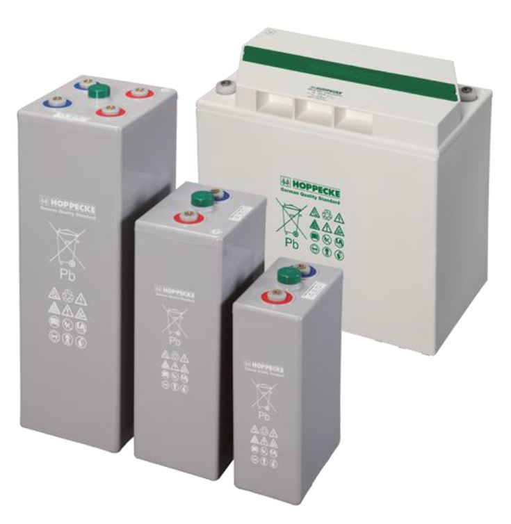 hoppecke-grid-powerVRL reserve power batteries