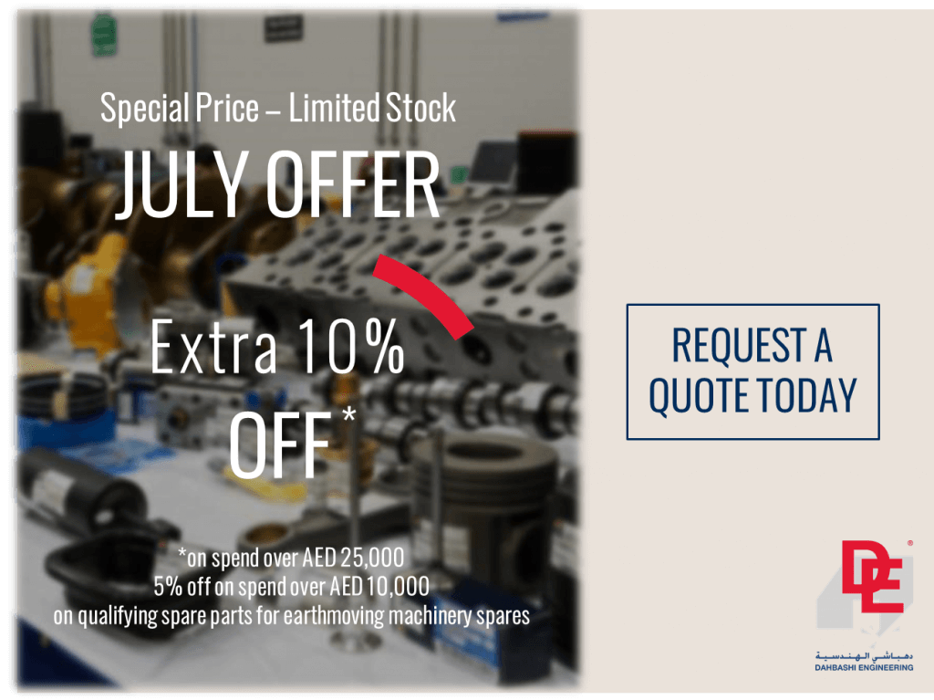 Special offer Earthmoving machinery spares